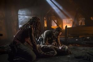8x09 ~ Honor ~ Michonne, Carl and Rick