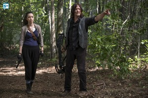 8x11 ~ Dead یا Alive یا ~ Daryl & Rosita