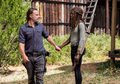 8x12 ~ The Key ~ Michonne and Rick - the-walking-dead photo