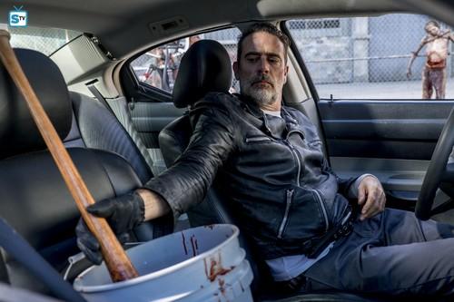 The Walking Dead kertas dinding entitled 8x12 ~ The Key ~ Negan