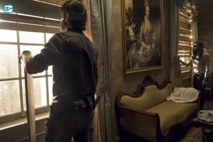 8x13 ~ Do Not Send Us Astray ~ Rick and Michonne