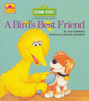 Big Bird wallpaper called A Bird's Best Friend (1986)