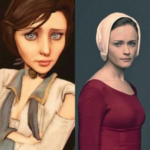Alexis Bledel as Elizabeth from BioShock