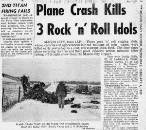 An Pertaining To 1959 Plane Crash