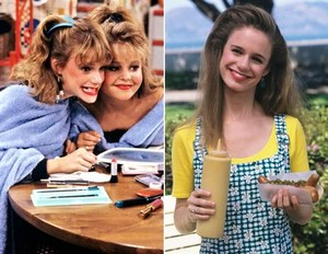 Andrea Barber then and now