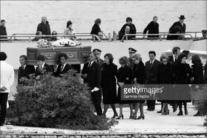 Aristotle Onassis' Funeral In 1975