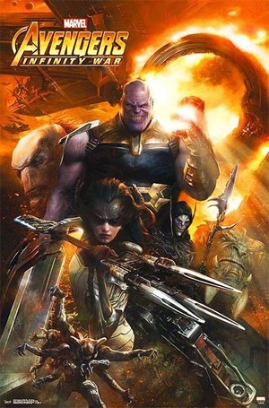 Avengers: Infinity War Key Art