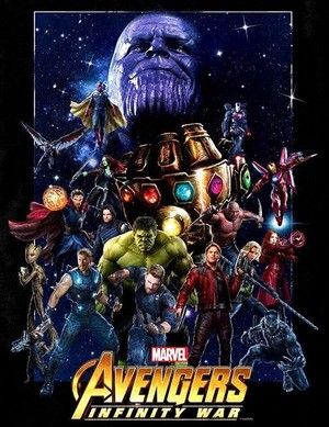 Avengers: Infinity War Key Art