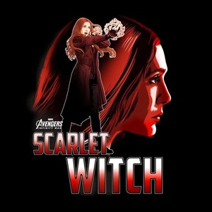 Avengers: Infinity War - Scarlet Witch Key Art