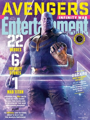 Avengers: Infinity War - Thanos Entertainment Weekly Cover