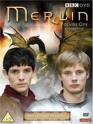 BBC Merlin Vol. 1 DVD Cover