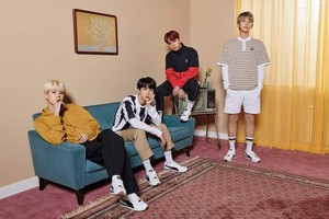 Bangtan Boys for Puma turin💙