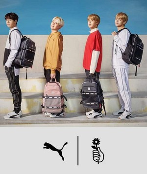 BTS for Puma turin💙