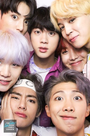Bangtan Boys on the Late Late Show