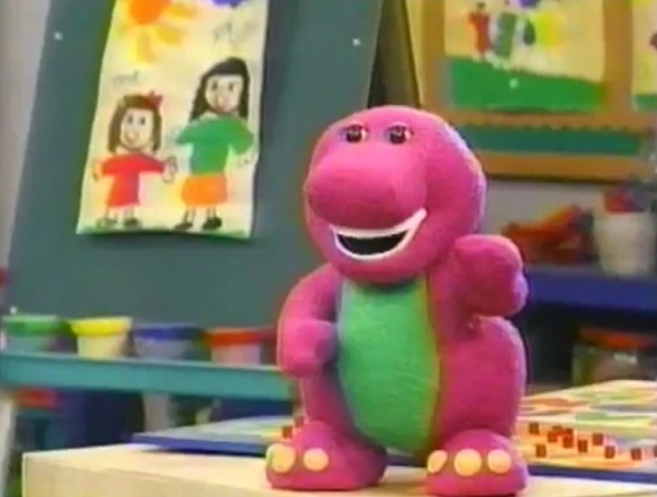 Barney Doll (Barney and Friends) - Barney & Friends Photo (41118269