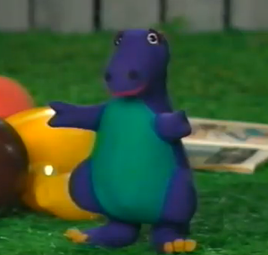 Barney Doll (Barney and the Backyard Gang)