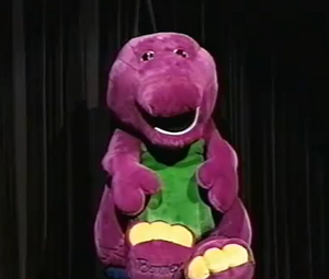 Barney Doll (Barney's Big Surprise)