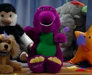 Barney Doll (Barney's Colorful World)