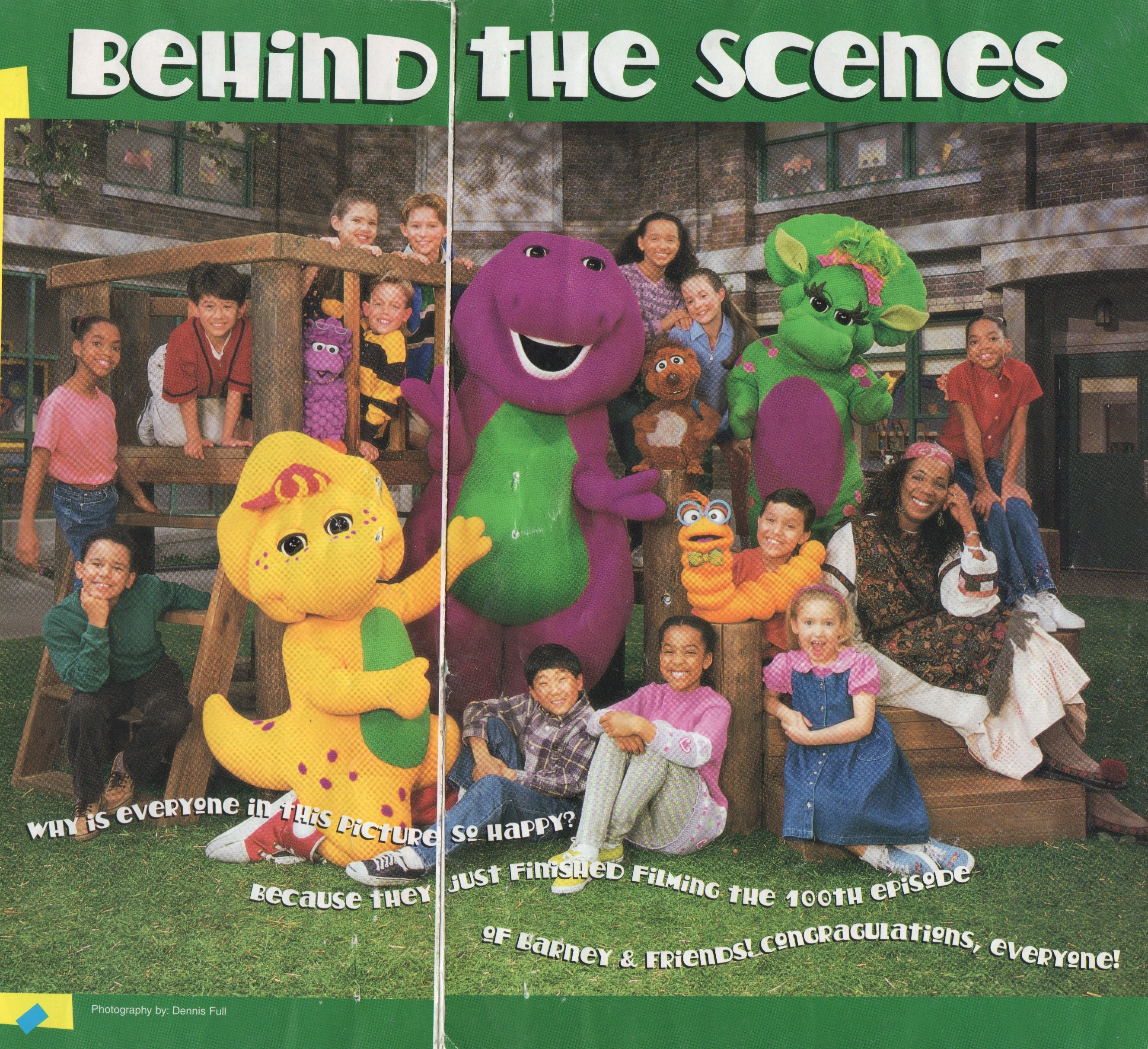 Barney and Friends: Season Five Cast