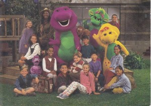 Barney and Friends: Season Four Cast