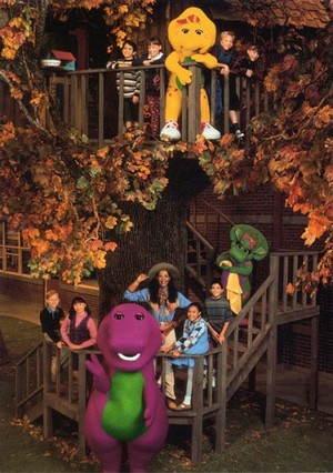 Barney and Friends: Season Three Cast