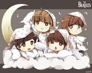 Beatles in Pajamas
