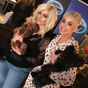 Bebe Rexha and Katy Perry