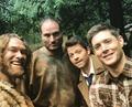 Behind The Scenes - supernatural photo