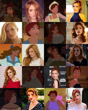 Bella Thorne looks like Anastasia/Anya