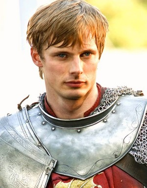 Bradley James Is King Arthur