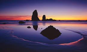 大炮, 加农炮 Beach, Oregon
