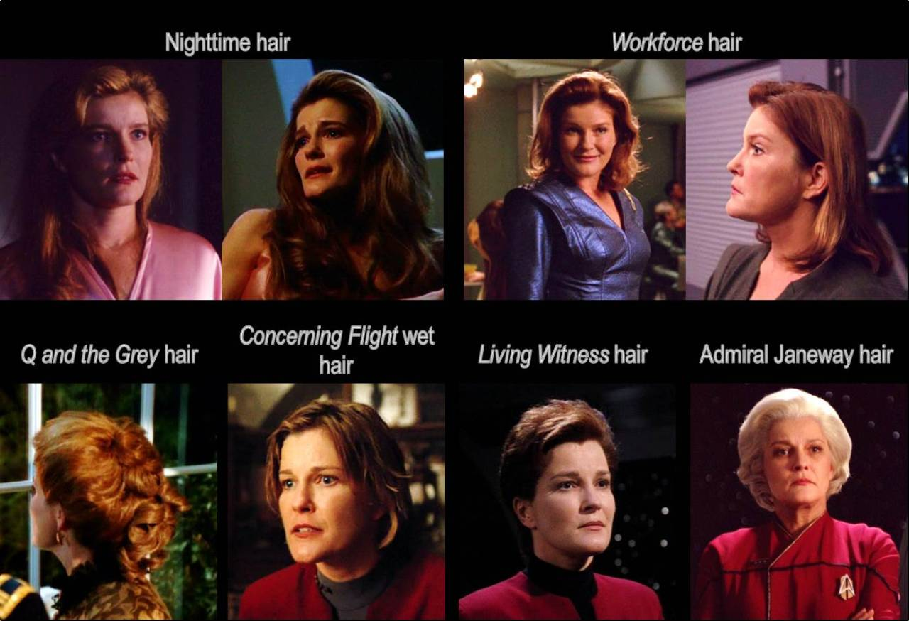 Captain Janeway's Hairstyle