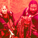 Carol, Ezekiel and Jerry - the-walking-dead icon