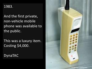 Cellphone 1983 Promo Ad