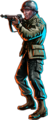 Chakotay  in 'The Killing Game' - star-trek-voyager fan art