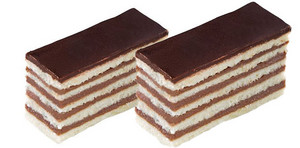 초콜릿 layer cake