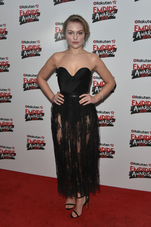 시애라 Charteris at The Empire Film Awards 2018