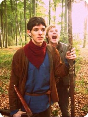 Colin Is Merlin, Bradley Is Arthur