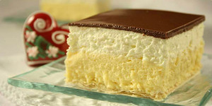 Custard cream slice