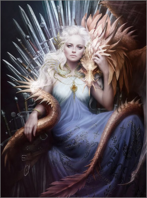 Daenerys Targaryen from A Song Of Ice And आग