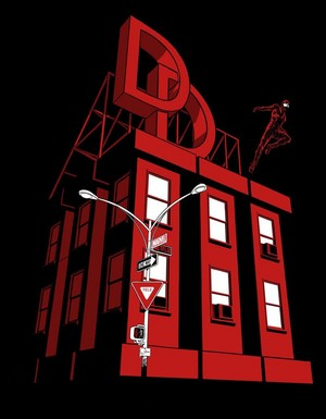 Daredevil Season 3 Teaser Art por Joe Quesada