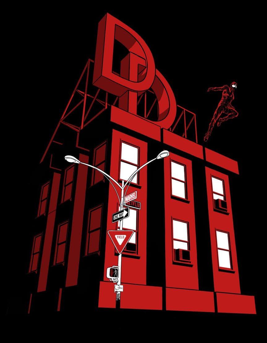 Daredevil Season 3 Teaser Art によって Joe Quesada