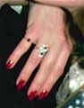 Debbie's Red Nails