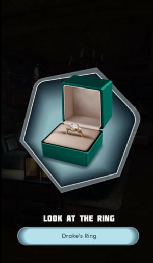 Drake's engagement ring
