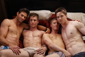 Eating out 5 - Gay 4some