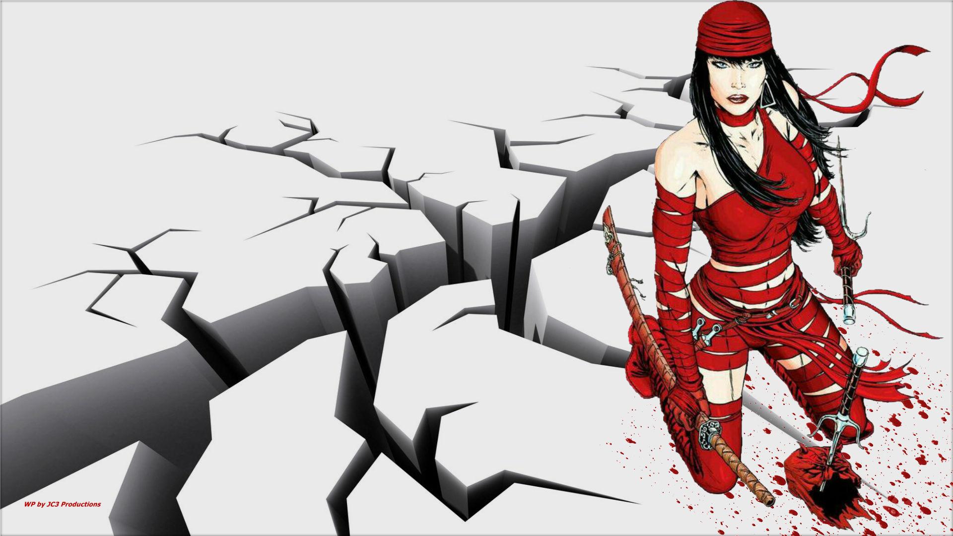 Elektra Earthquake  wallpaper