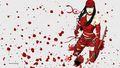 Elektra vs Daredevil 2 wallpaper