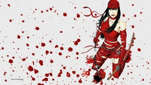 Elektra vs Daredevil 2 wallpaper