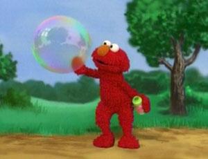 Elmo Blowing Bubbles (Elmo's World)