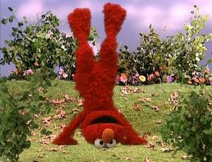 Elmo Doing a Handstand (Elmo's World)